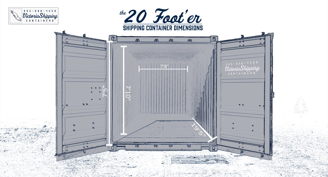 20 Foot Shipping Containers